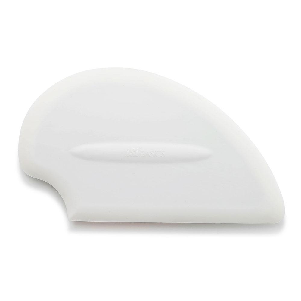 ISI B10002 Flexible Silicone Scraper Spatula, White