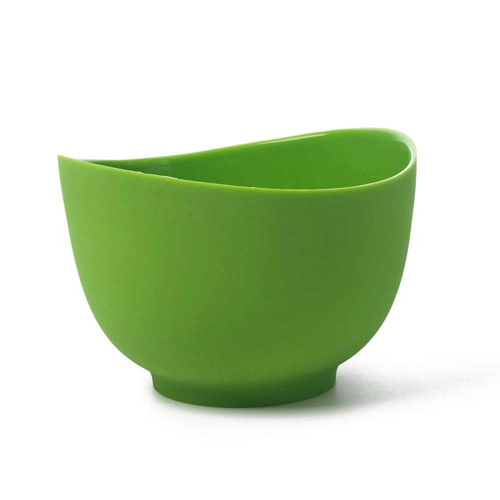 ISI B26104 1.5-qt Flexible Mixing Bowl w/ Secure Grip Texture & Form Anywhere Spout, Wasabi