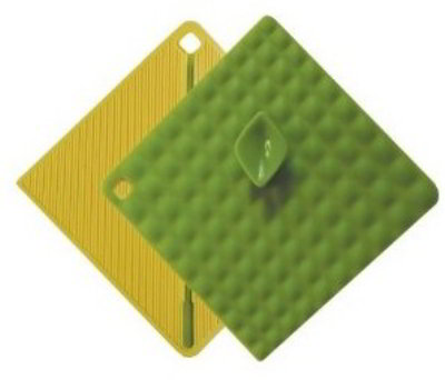 ISI B30104 Basics Get-It Pot Holder, Wasabi