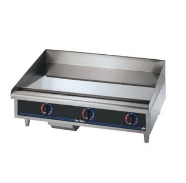 Star 536CHSD 36-in Griddle w/ .75-in Chrome Plate & Snap Action 208/1 V Restaurant Supply
