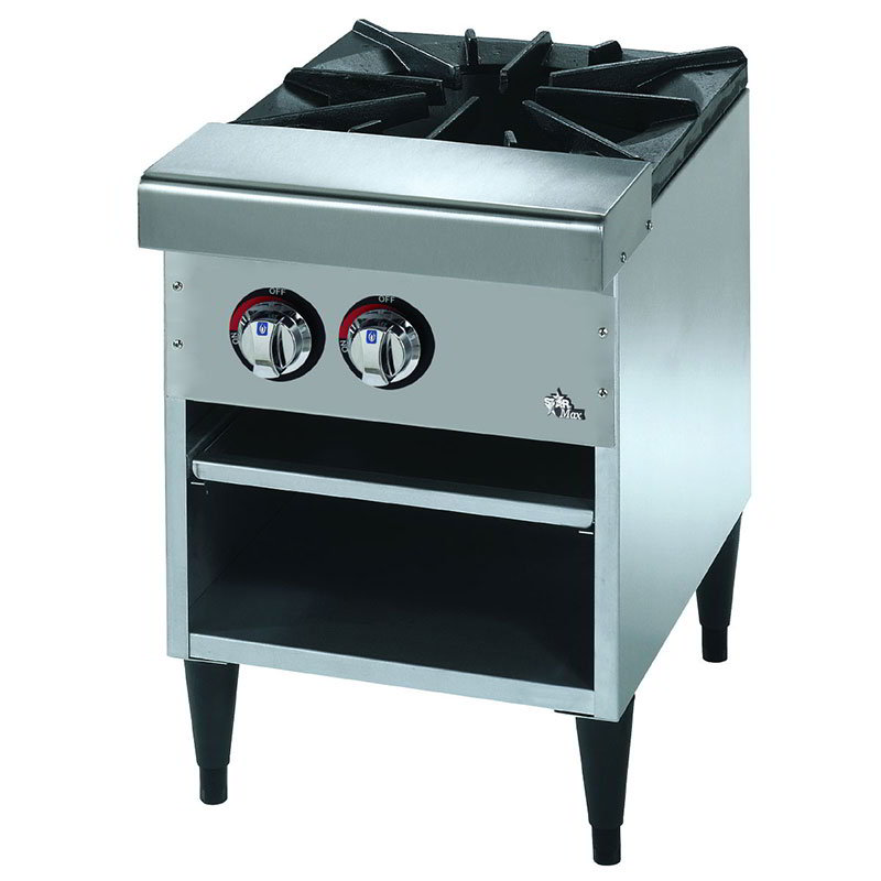 Star Manufacturing 601SPRF 1-Burner Stock Pot Range, NG