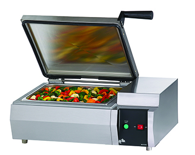 Star FS1R Fast Steamer Self-Contained Manual SS Interior Restaurant Supply