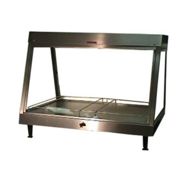Star Manufacturing HFM12 Hot Food Merchandiser, Single Shelf, 35 in Long, 120 Volts