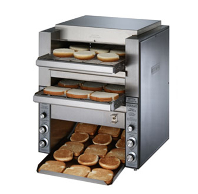 Star Manufacturing DT14240 Conveyor Toaster, (2) 14-in Belts, 1000 Slices/Hour, 240 V