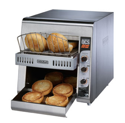 Star Manufacturing QCS2-600HA 240 Holman QCS Conveyor Toaster, Electric, 600 Slices per Hour, 240 V