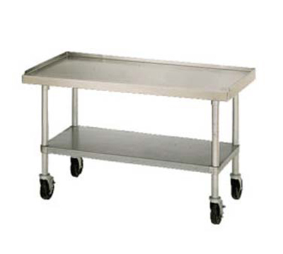 Star Manufacturing ESUM60S Equipment Stand, 60 x 30 x 24-in, w/ Bottom Shelf, Stainless