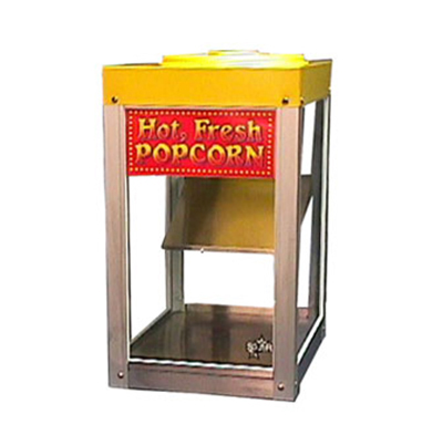 Star Manufacturing 12NCPW-230 Nacho Chip Popcorn Merchandiser, 7-lb Capacity, Glass, Export