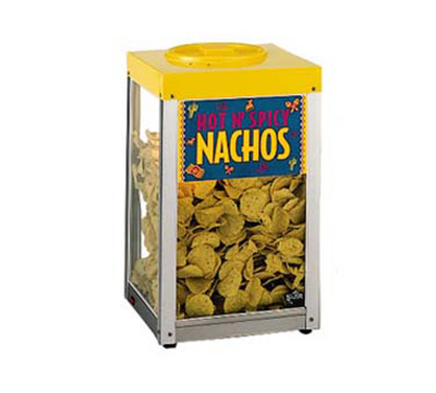 Star Manufacturing 15NCPW Nacho Chip Merchandiser, 10-lb, Heated Stainless Bottom