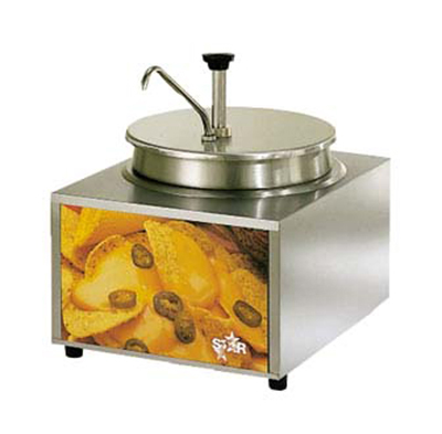 Star Manufacturing 11WLA-P CUL-120 11-qt Cheese Warmer & Pump, Dry Heat, Stainless, 120 V, Export