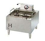 Star Manufacturing 301HLF 15-lb Fryer w/ Adjustable Snap Action Thermostat, Twin Baskets