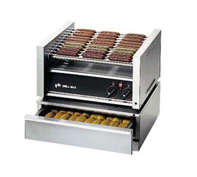 Star Manufacturing SST-30 120 Bun Warmer w/ 48-Bun Capacity, For 30, 30S, 45A, & 45SSA w/ Shelf