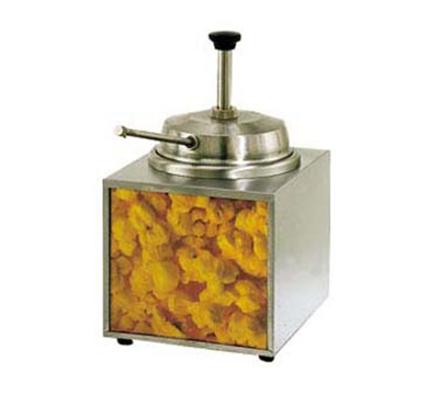 Star Manufacturing 3WLA-B-230 Countertop Lighted Butter Warmer w/ Pump, 3.5-qt Capacity, Export