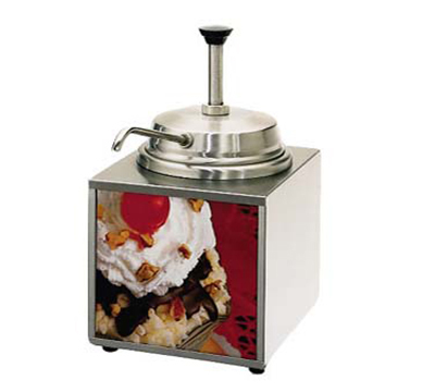 Star Manufacturing 3WLA-P-230 3.5-qt Countertop Lighted Food Warmer w/ Pump, Stainless, Export