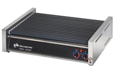 Star Manufacturing 50SCF 50 Hot Dog Roller Grill - Flat Top, 120v