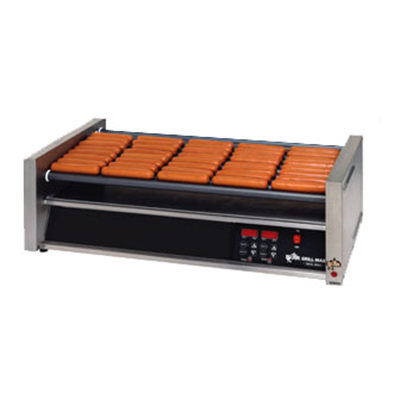 Star Manufacturing 50SCE 50 Hot Dog Roller Grill - Slanted Top, 120v