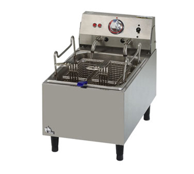 Star Manufacturing 510FF 10-lb Fryer w/ Twin Baskets & Single Pot, CSA