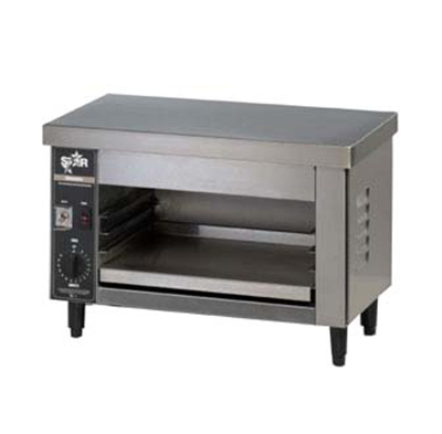 Star Manufacturing 526CMA-CUL 25.75-in Countertop Cheesemelter w/ Timer, Stainless, Export/CUL