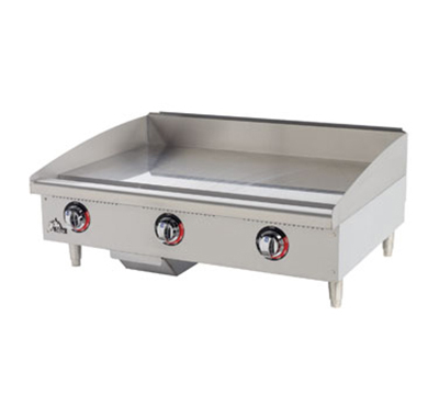 Star Manufacturing 536TGF 36-in Griddle w/ 1-in Steel Plate, Thermostat Controls, 4-in Legs