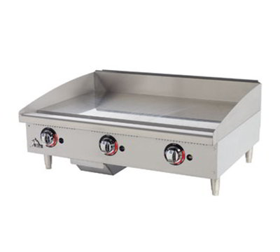 "Star Manufacturing 648TF 48"" Griddle - 1"" Steel Plate, Thermostat Controls, NG"