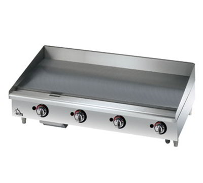 "Star Manufacturing 615MF 15"" Griddle - 1"" Steel Plate, Manual Controls, NG"