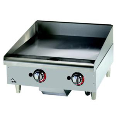 Star Manufacturing 636TCHSF 36-in Griddle w/ 1-in Chrome Plate, Thermostat Contr