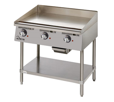 Star Manufacturing 736TA 36-in Griddle w/ Snap Action Thermostat & 1-in Steel Plate, 240v