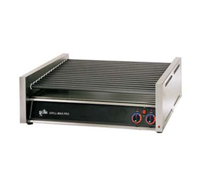 Star Manufacturing 75SC240 75 Hot Dog Roller Grill - Slanted Top, 240v