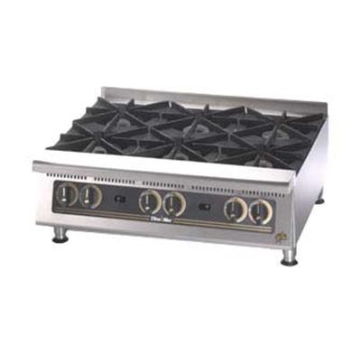 "Star Manufacturing 808HA 48"" Hotplate - 8-Burners & Manual Controls, 240000-BTU, NG"