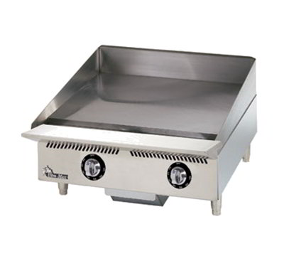 "Star Manufacturing 824TA 24"" Griddle - 1"" Steel Plate & Throttling Thermostat Controls, NG"