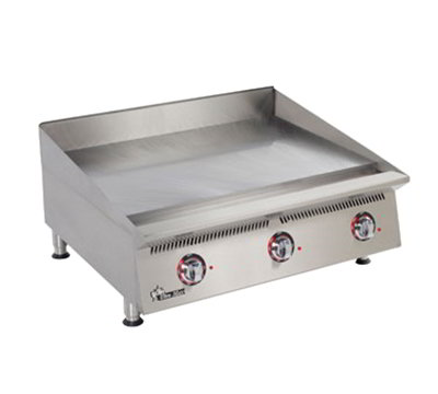 "Star Manufacturing 836TA 36"" Griddle - 1"" Steel Plate & Throttling Thermostat Controls, NG"