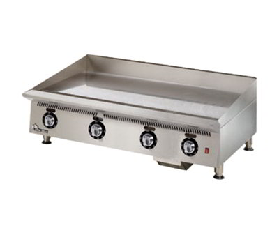 "Star Manufacturing 848TSA 48"" Griddle - 1"" Steel Plate & Snap Action Thermostat, NG"