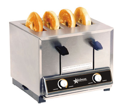 Star Manufacturing BT4120 Toaster, Pop-Up, 4-slot,  Timer, Cer