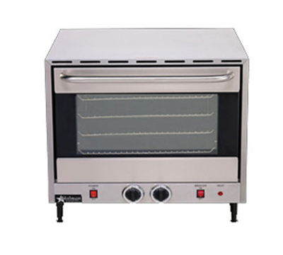 Star Manufacturing CCOF4 Countertop Convection Oven - Holds (4) Full Size Pans, Stainless, 208v