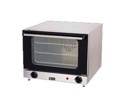 Star Manufacturing CCOQ3120 Quarter-Size Countertop Convection Oven, 120v