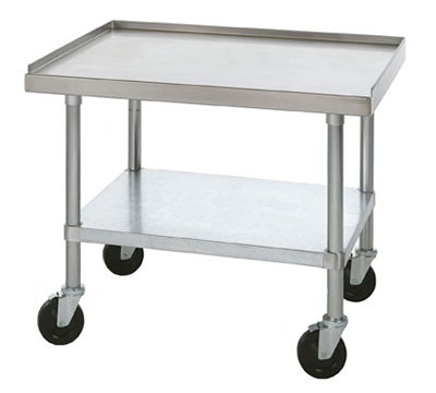 Star Manufacturing ESSM15S Equipment Stand, 15 x 24 x 24-in, w/ Bottom Shelf, Stainless
