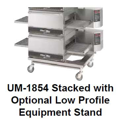 Star Manufacturing ESUM1854 Equipment Stand, For Single/ Double Stack Conveyor Gas Oven