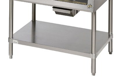 Star Manufacturing ESUM72SFC Floor Model Stand, Pre-Cut, 71 x 24.25 x 22-in, Stainless