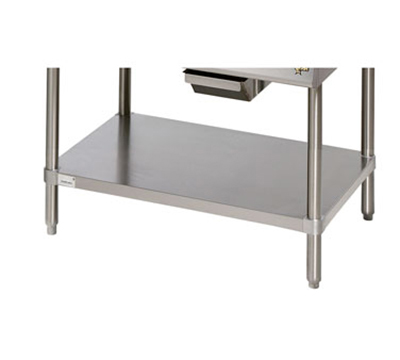 Star Manufacturing ESUM36SF Floor Model Stand, 35 x  24.25 x 22-in, w/ Bottom Shelf, Stainless