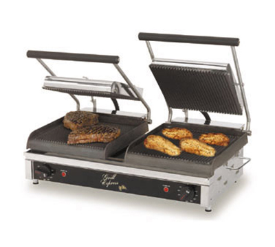 Star Manufacturing GX20IS Two-Sided Grill, 20-in Smooth Cast Iron, 208/240V