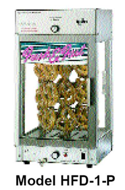 Star Manufacturing HFD1P Humidified Display Cabinet, Pretzel Rack, 15 x 15-in