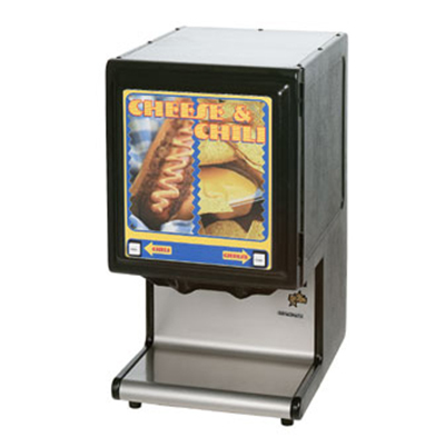 Star Manufacturing HPDE2P-230 Hot Food Dispenser w/ Pump, Dispenses 2-Pouch, Export
