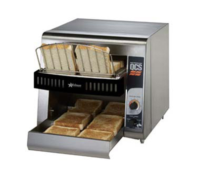 Star Manufacturing QCS1-350 Conveyor Toaster, 2-Slice x 1.5-in Opening, 350 Slices/Hr, 120 V