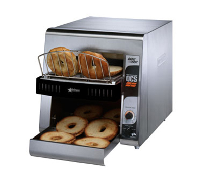 Star Manufacturing QCS21200B240 Conveyor Toaster, 2-Slice x 1.5-in Opening, 1200 Slices/Hr, 240 V