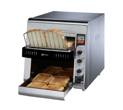 Star Manufacturing QCS2500 Conveyor Toaster, Variable Speed, 350 Slices/Hr, 120 V
