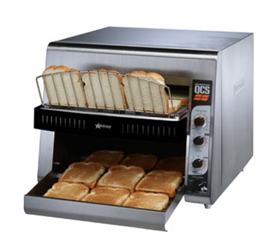 Star Manufacturing QCS3-1300 208 Holman QCS Conveyor Toaster, High Volume, 1300 Slices per Hour, 208 V