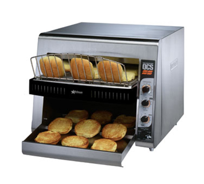 Star Manufacturing QCS3-1400BH 208 Holman QCS Conveyor Toaster, High Volume, 1400 Slices per Hour, 208 V