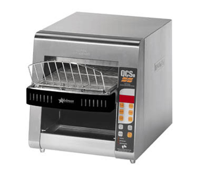 Star Manufacturing QCSE2-600H Conveyor Toaster, Electronic Controls, 600 Slices/Hr, 240v