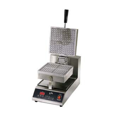 Star Manufacturing SWB8SQE-230 Single Waffle Baker w/ 8-in Square Grid, Export