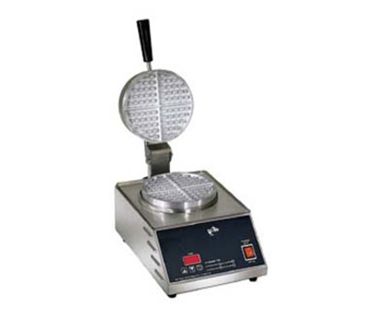 Star Manufacturing SWB7R1E-230 Single Waffle Baker w/ 7-in Round Grid, Export