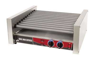 Star Manufacturing X30S 30 Hot Dog Roller Grill - Slanted Top, 120v